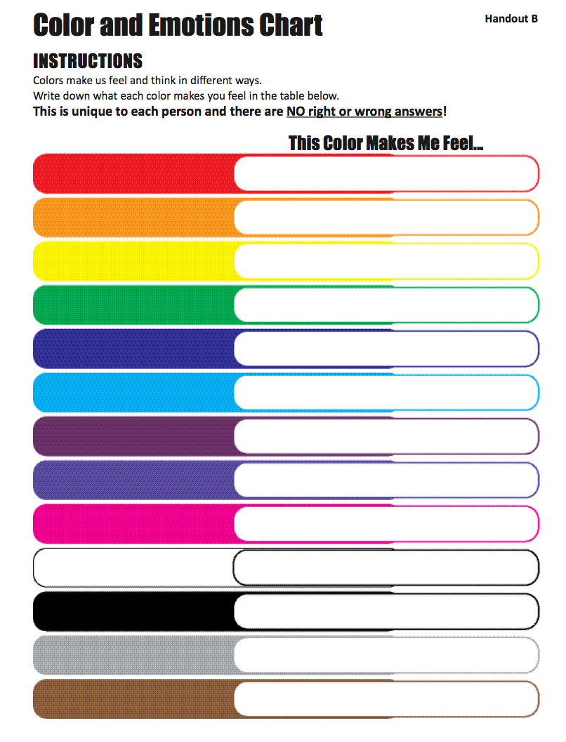 What Color Is My Anger Hub For Helpers