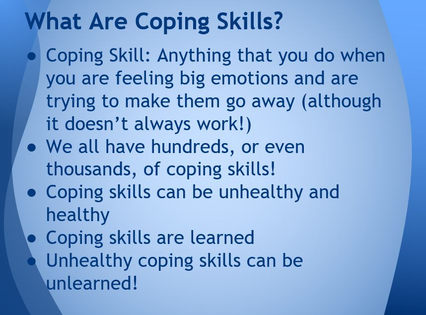 Coping Skills Guidance Lesson